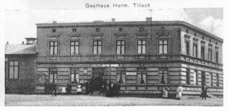 08 - Gastwirthschaft Herman Tillack, Dorfstraße 12; 1911