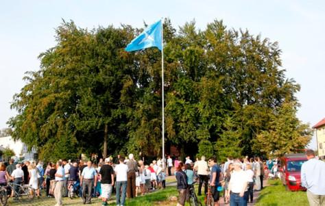 urodziny warszewa flaga