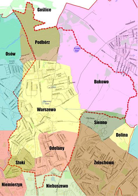 mapa osiedli