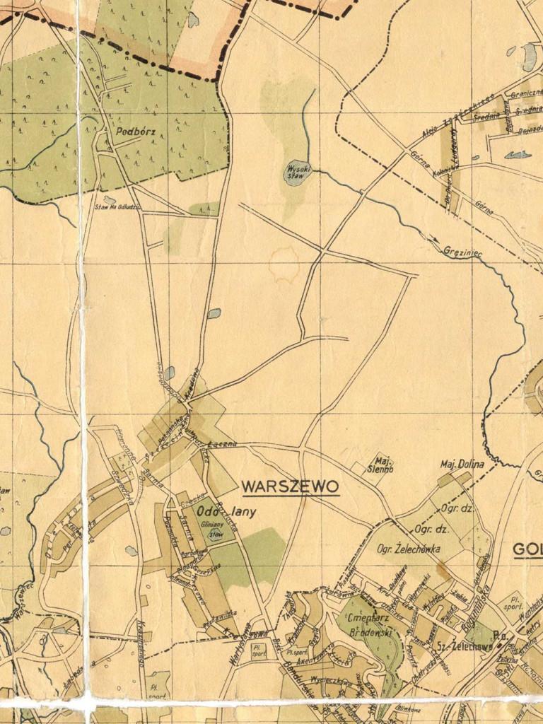 mapy warszewo